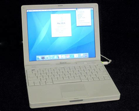 Laptop Apple Ibook G4 apple ibook power pc g4 a1133 1 3ghz 512mb ram 40gb hdd