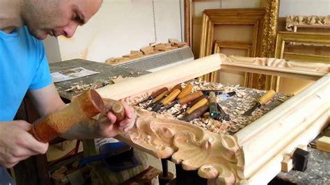 cornici intagliate a mano cornici in legno intagliate a mano colonna porta lavatrice