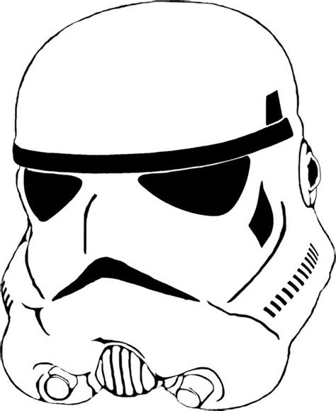 printable star wars helmet stormtrooper coloring pages coloring home