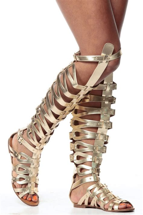 thigh gladiator sandals gold thigh high gladiator sandals cicihot sandals shoes