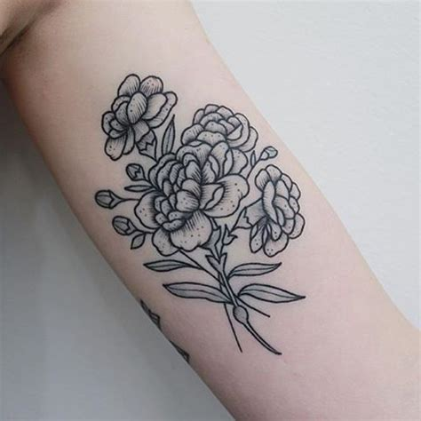 small crazy tattoos best 25 carnation ideas on carnation