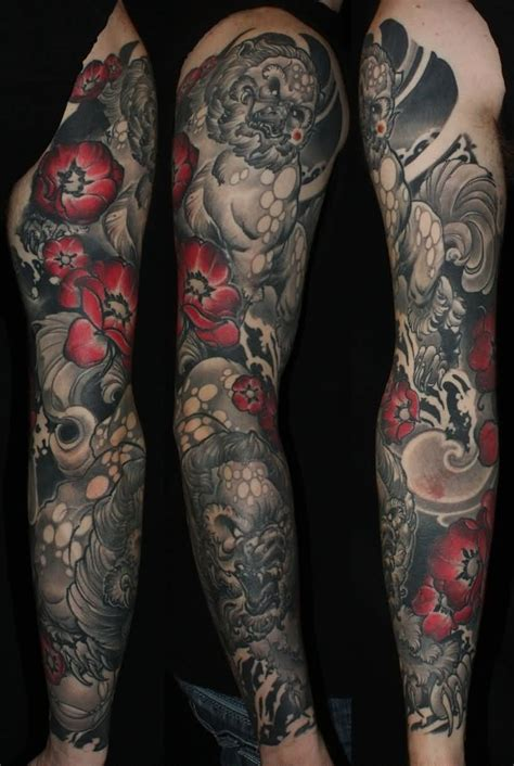 dark tattoo sleeve designs badass and original sleeve tattoos top 157 trending