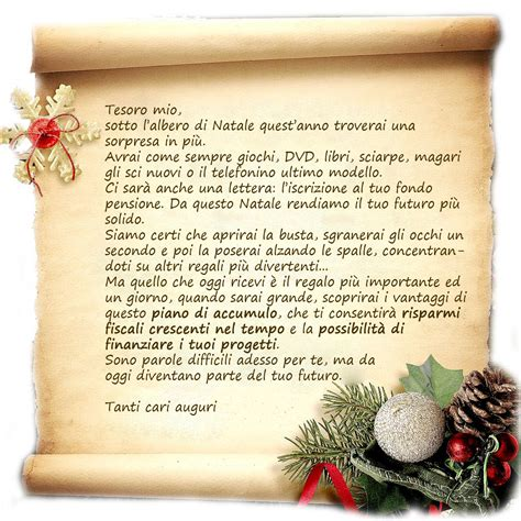 lettere inps lettera di natale5 previsionari