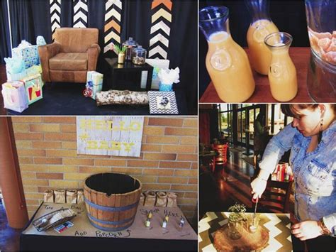 karas party ideas rustic chic baby shower party planning