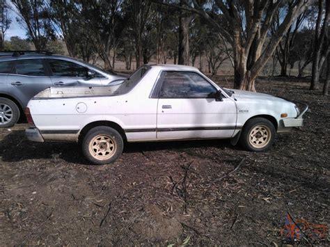 subaru ute subaru brumby 4x4 1992 ute manual 1 8l carb seats in