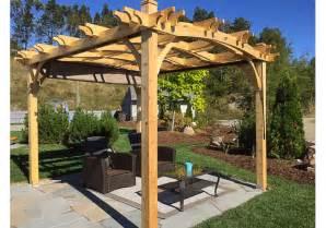 Arched Pergola Kits by Pergolas 10x12 Arched Breeze Pergola Outdoor Living Today