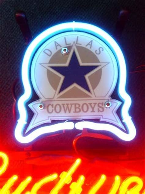dallas cowboys bud light nfl dallas cowboys budweiser neon light sign and similar items