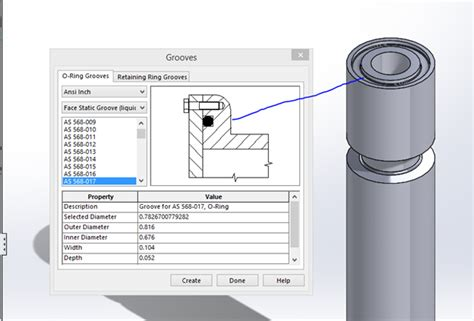 Drawing O Ring Solidworks by The Treasures Of Solidworks Toolbox Part 3
