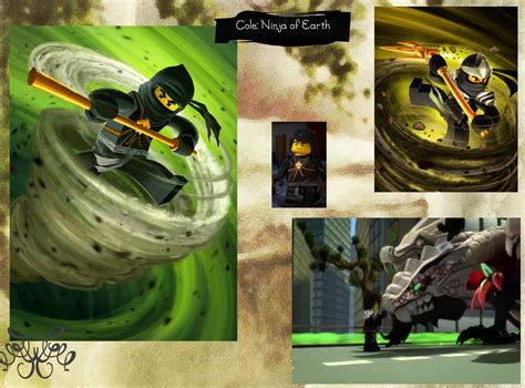 Lego Ninjago Cole Of Earth cole of earth the four masters of spinjitzu