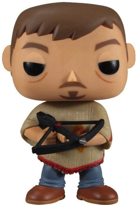 Funko Pop The Walking Daryl Dixon With Rocket Launcher Figure the walking dead daryl dixon in poncho pop viny trt library