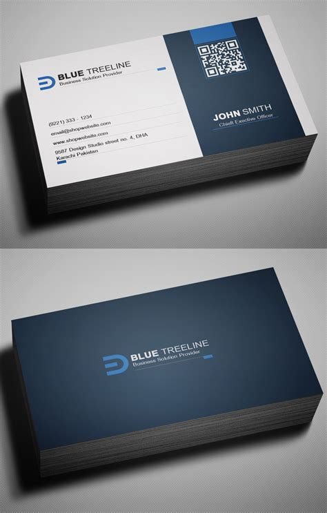 Free Calling Card Template Psd