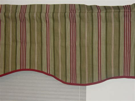 jcpenney home collection new stripe window valance size 84