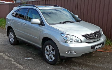 lexus rx 2004 2004 lexus rx 330 information and photos momentcar