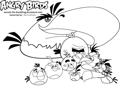 free coloring pages of angry birds halloween