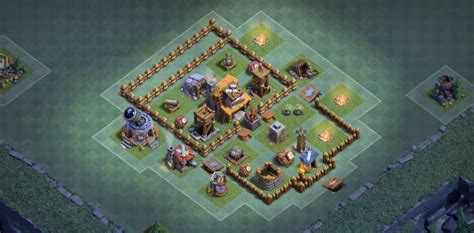 layout coc 4 bh4 base layouts for builder hall 4 anti 2 star
