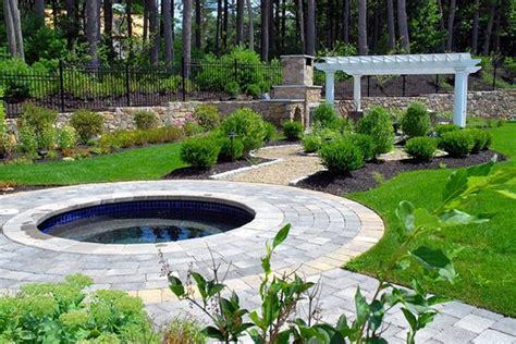 Backyard Spa Landscaping Ideas Spas Sudbury Ma Photo Gallery Landscaping Network