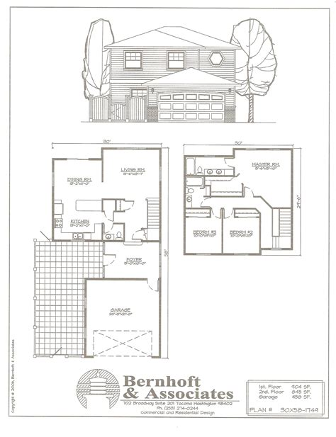single family floor plans bernhoft associates