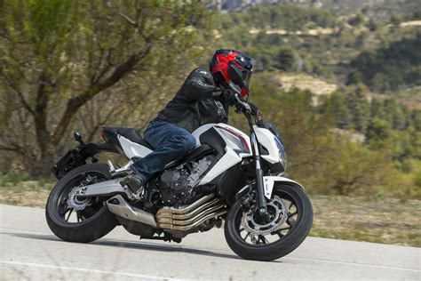 new honda cb650f ride honda cb650f review visordown