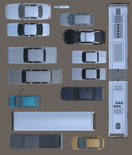 2d furniture floorplan top down view psd 3d model cgtrader 2d cars vehicules furniture floorplan top view psd 3d