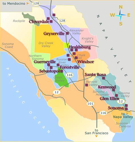 california map napa sonoma vinho todos os dias relatos da safra 2010 estados