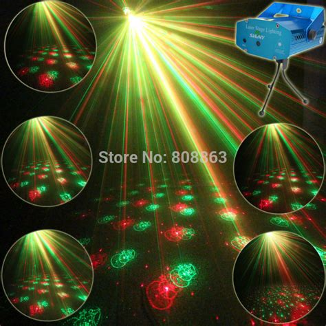 disco christmas lights aliexpress buy mini green laser 6 patterns projector dj lighting