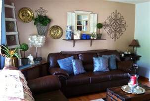 blue and brown living rooms brown and blue living room for the home pinterest