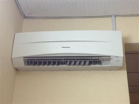 Ac Panasonic Second 2nd air conditioner air conditioner guided
