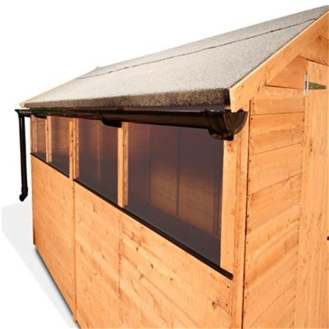 Guttering For Shed by Billyoh Shed Gutter System Kit Guttering Garden