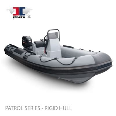 "470r pt (15'6"") patrol series (rigid hull) inflatable boat"