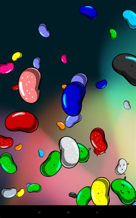 Android Red Jelly Bean Wallpaper