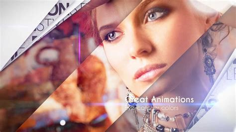 after effects free fashion templates glory fashion showcase after effects intro template