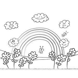 cool rainbow coloring page free printable rainbow coloring pages for kids rainbows