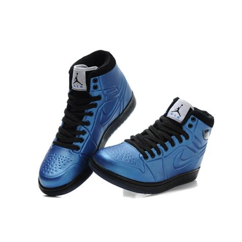 Sneakers Black Blue air 1 breathable mid blue black nike sneakers for