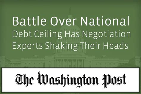 national debt ceiling william ury battle national debt ceiling has