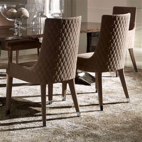 Italian Dining Table Sets Contemporary Quilted Nubuck Leather Italian Dining Chairs Juliettes Interiors