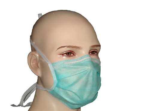 Masker Surgical Mask 1 package of 50 tie on surgical masks