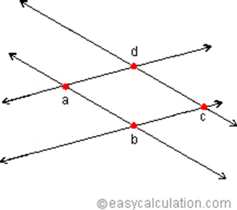 inter section what is intersection definition and meaning math