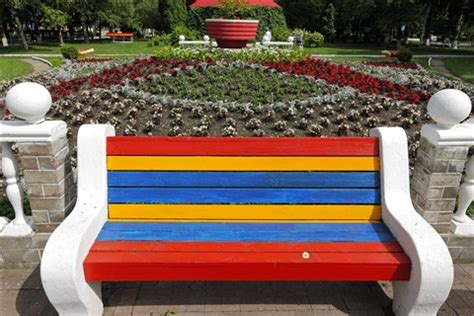 colored benches colorful bench rayoung galleries digital photography
