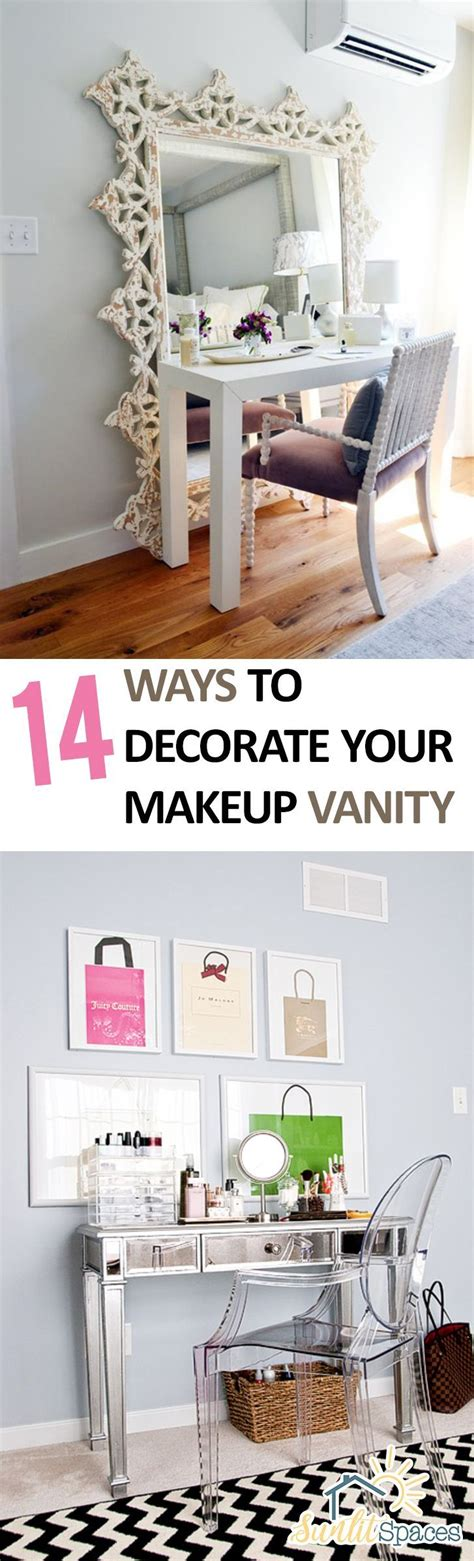 18 cheerful home decor ideas to make your home a happy place makeup vanity how to decorate your makeup vanity home