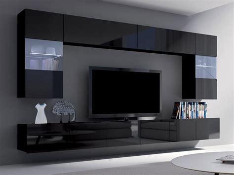 wohnzimmer schrankwand schwarz moderne wohnwand schrankwand wohnzimmer corona simson i