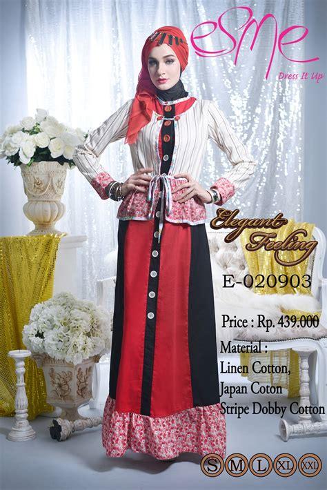Rosyi By Balimo 1 Feeling E 020903 Baju Muslim Gamis Modern