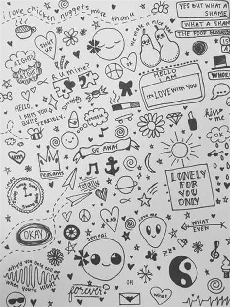 doodle simple drawing simbolos pequenos desenhos 9 desenhos favoritos