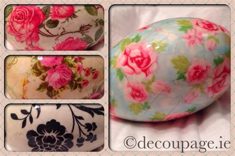 decoupage easter eggs tissue paper decoupage ie easter eggs