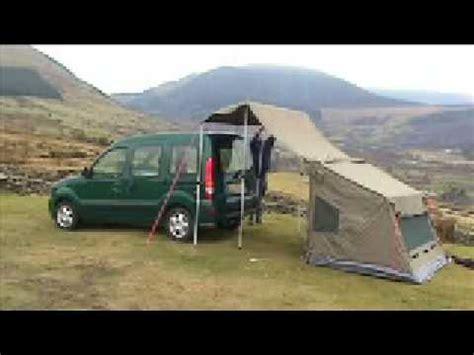 berlingo awning oz tent and the amdro jump kangoo cervan youtube