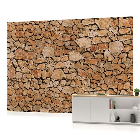 wall with wall rock photo wallpaper wall mural room 243veve