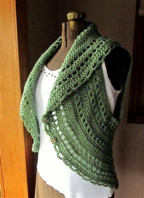 lion yarn pattern finder 20 simple crochet shrug design diy to make