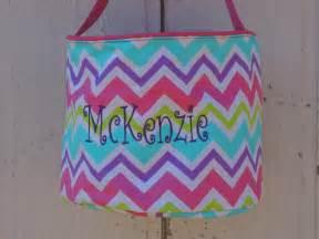 monogrammed basket monogrammed easter basket personalized easter basket