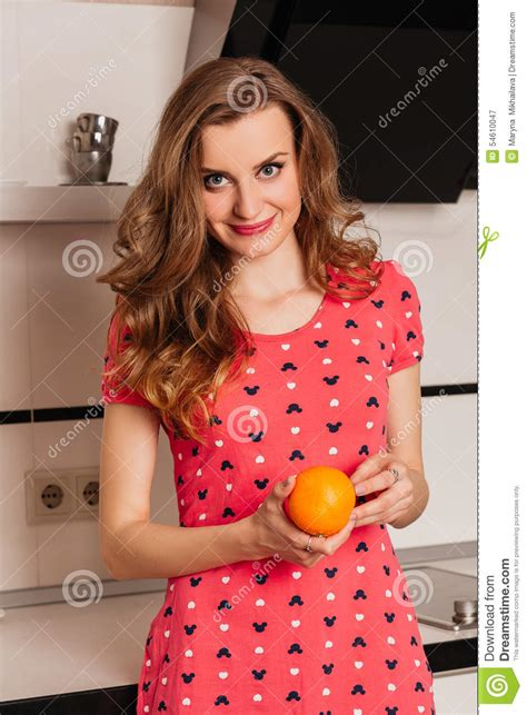 Stunning Hair From Your Kitchen by Beautiful Hair In The Kitchen With Stock Photo