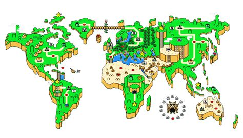 mario world map mario world map icon by slamiticon on deviantart