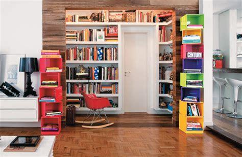 q es estante para libros trio designer estante para livros